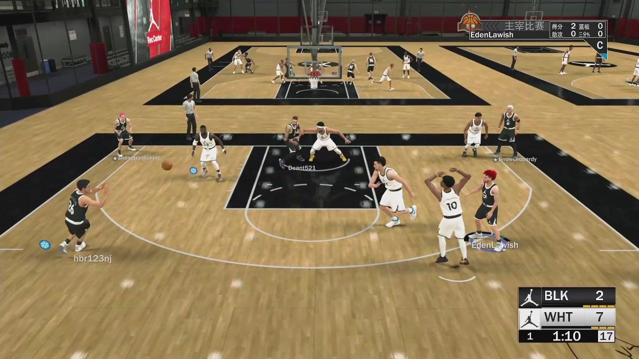 【Eden】NBA2K19生涯 5个肌肉棍子