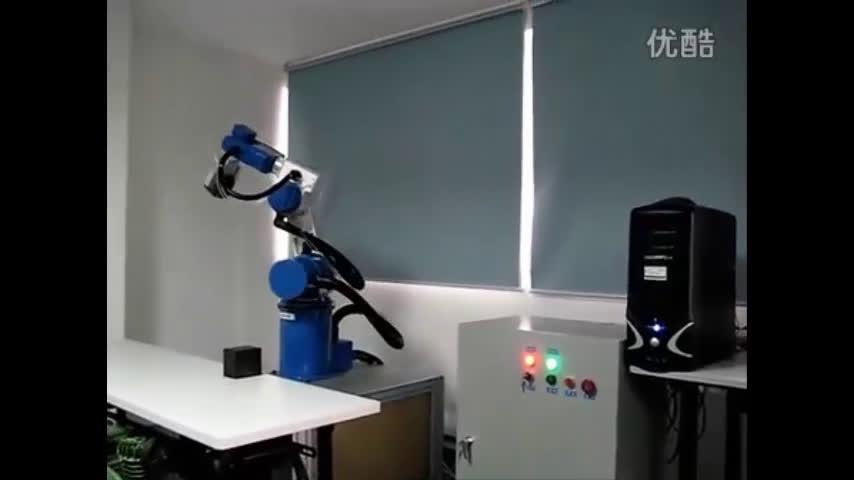 六自由度工业机器人演示