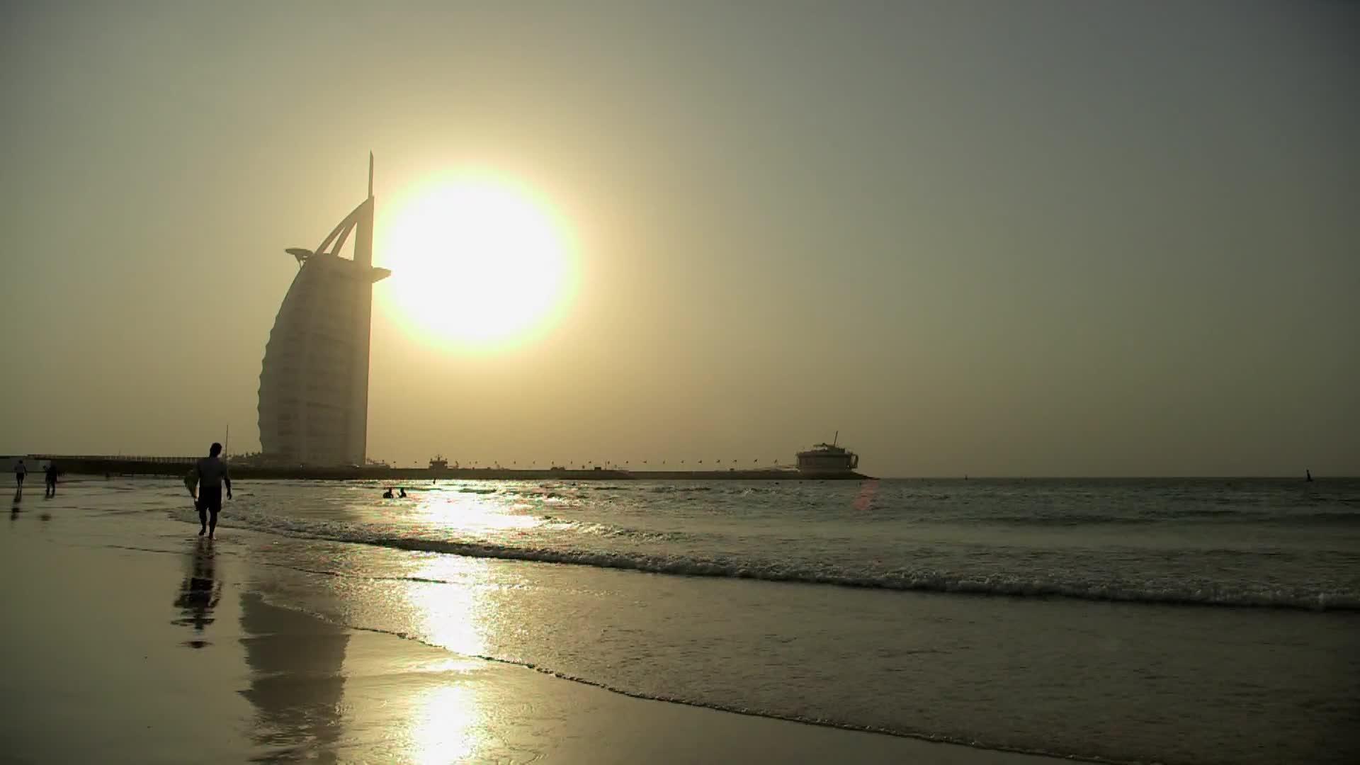海平线上的迪拜