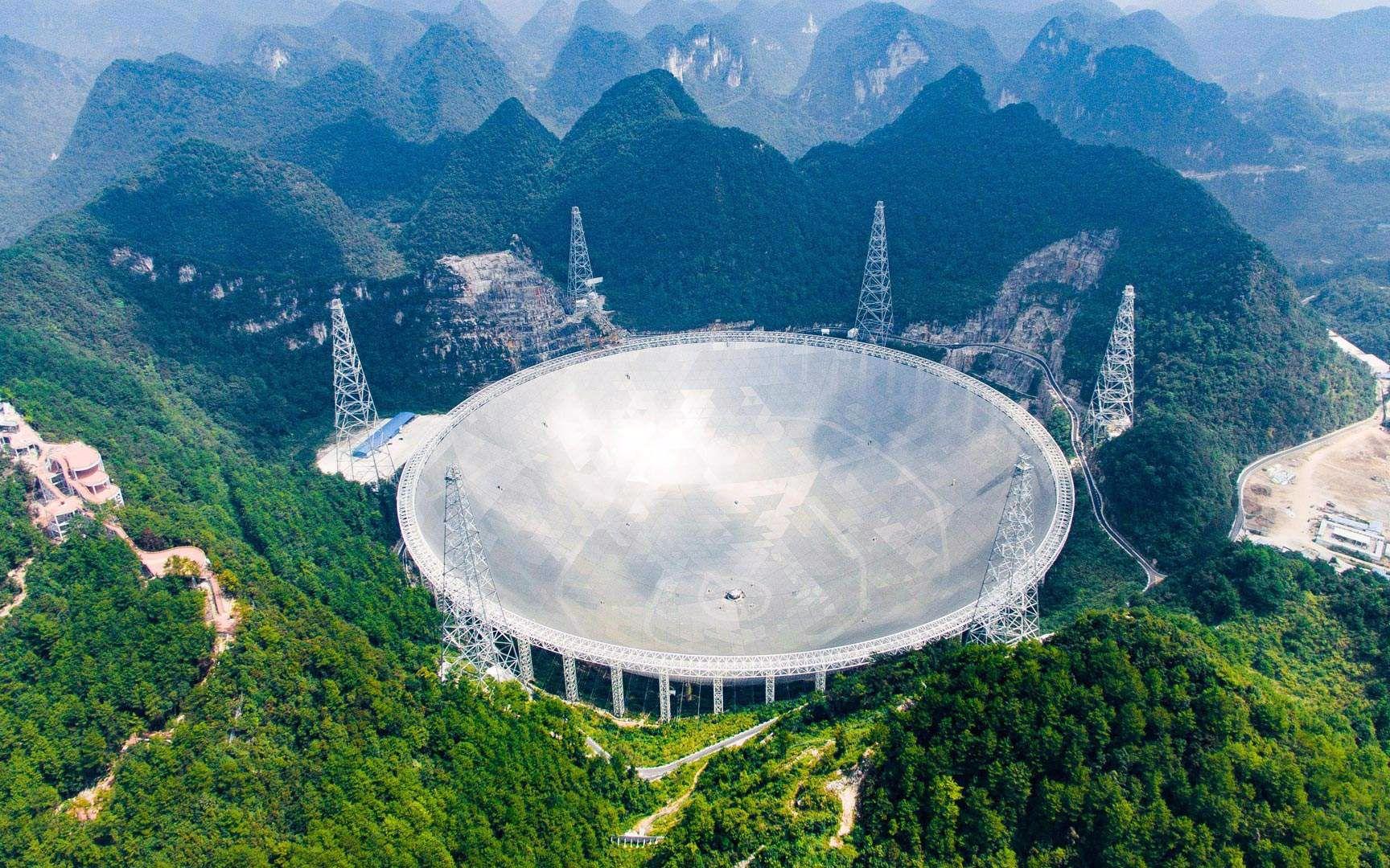"""【科技狐】历时22年,震撼全球的""""中国天眼"""",将能监听外星人"""