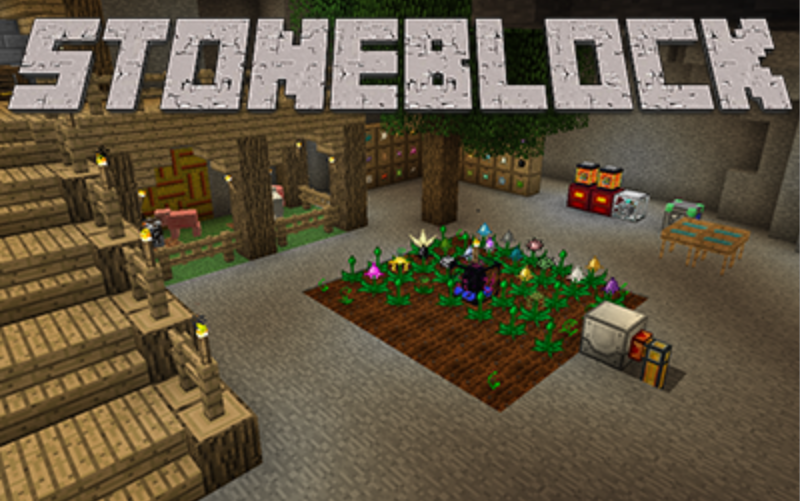 Сборка StoneBlock для Minecraft 1.12.2