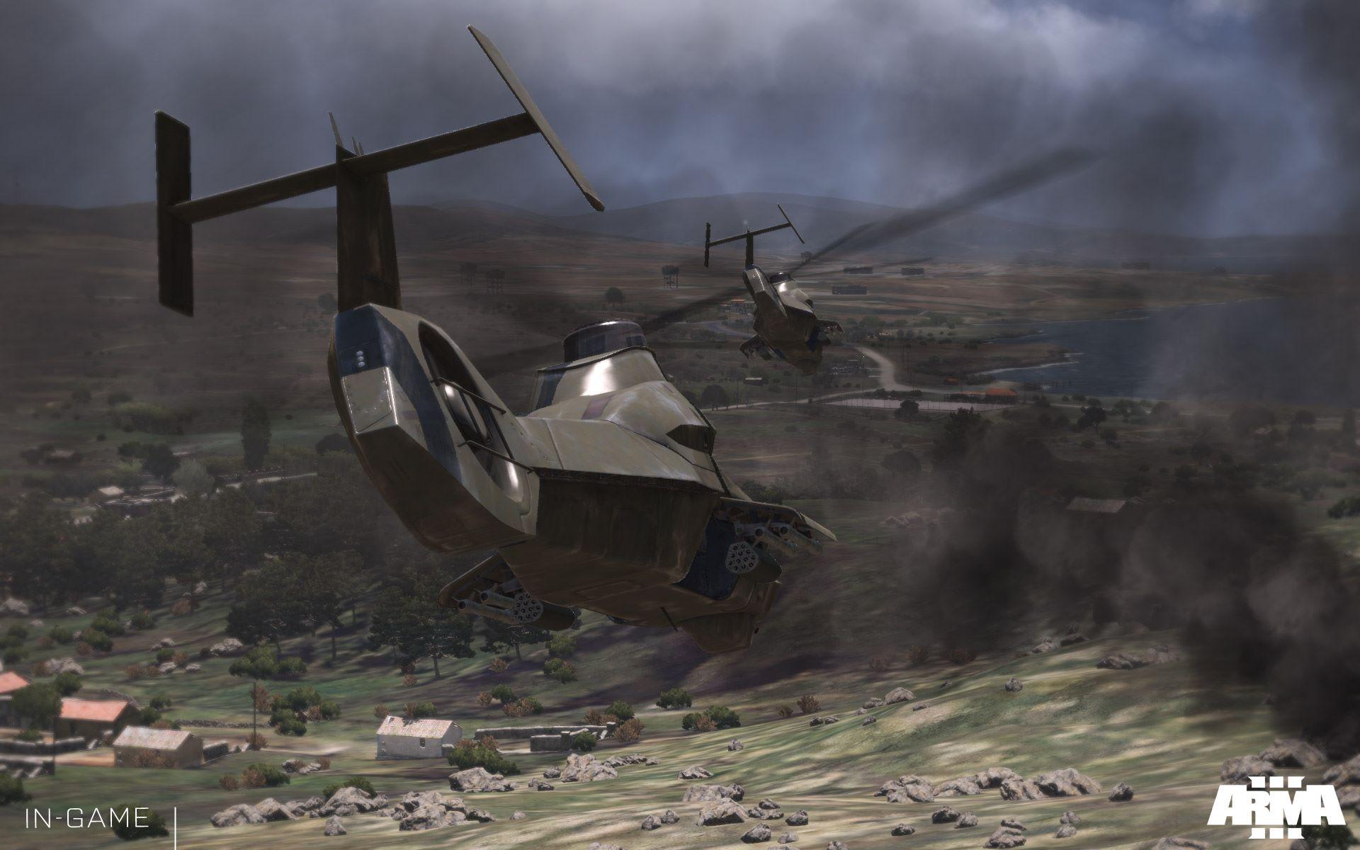 【Viper-Pilot】ARMA3 直升机自旋迫降操作演示