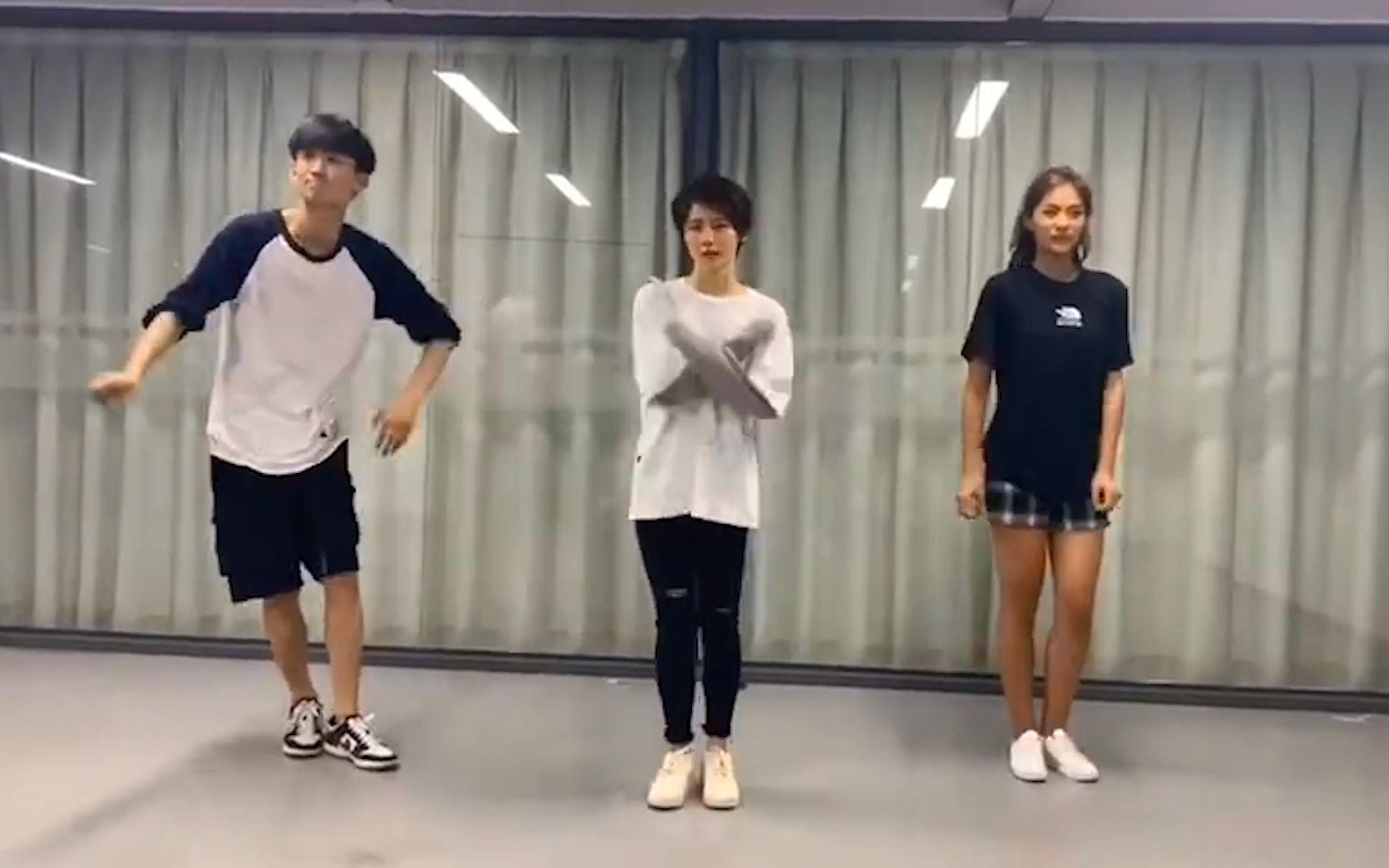 【爱情公寓五】大力 海棠 咖喱酱舞蹈练习