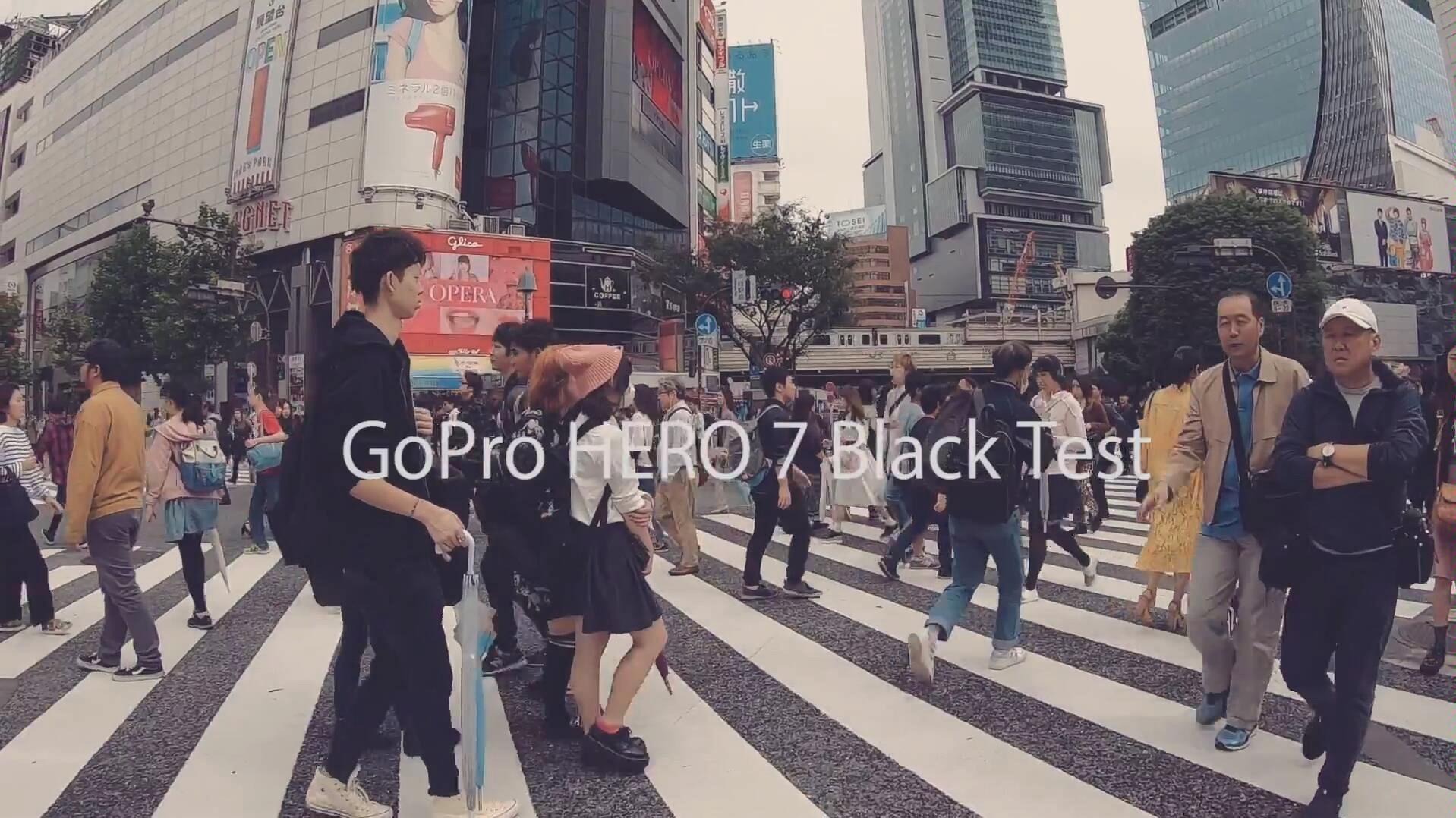 [测试]GoPro HERO 7 Black 东京拍摄