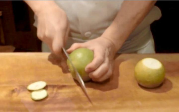 【日料刀工系列】青橙醋制作和河豚薄切刺身