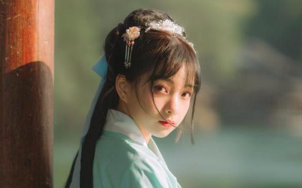 【短发汉服发型教程】做一个可爱的小仙女(有发包)_美妆_.