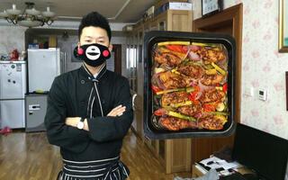【直男下厨房】第六十九期 孜然菠萝烤鸡翅