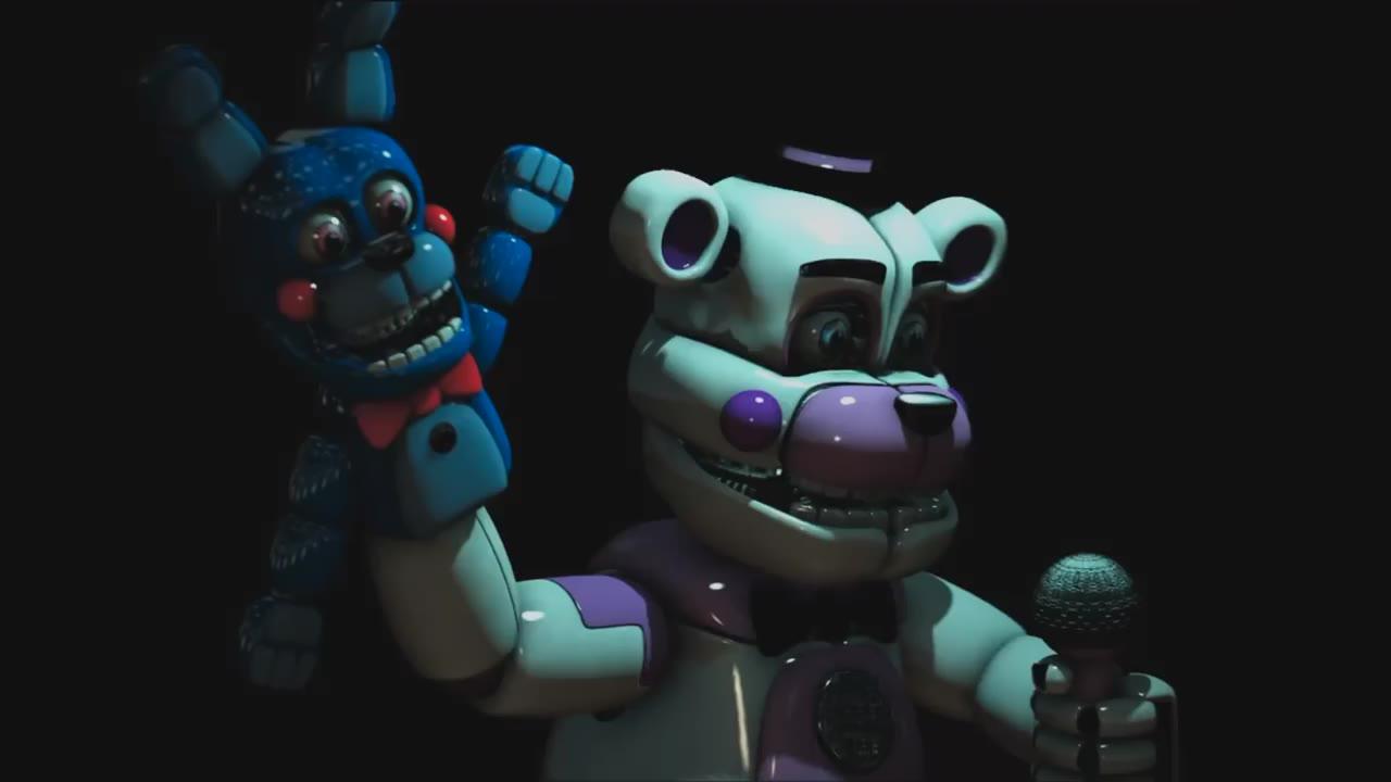 [FNaF SFM]玩具熊的五夜后宫姊妹篇动画 嘿邦