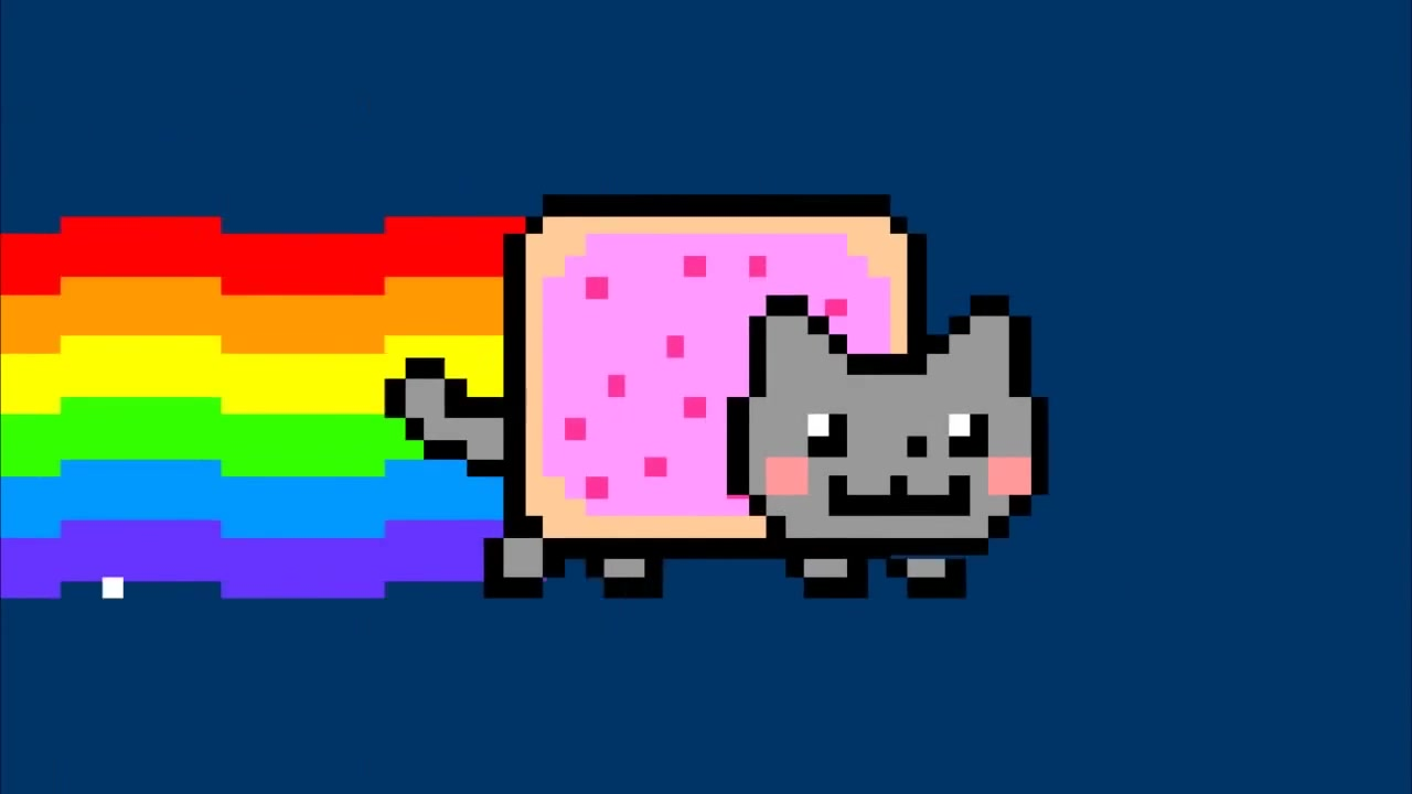 nyanimals ( martin garrix - animals vs. nyan cat ) 彩虹猫图片