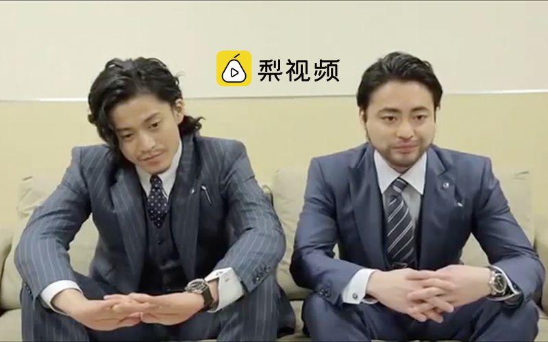 太中二!小栗旬山田孝之手机广告