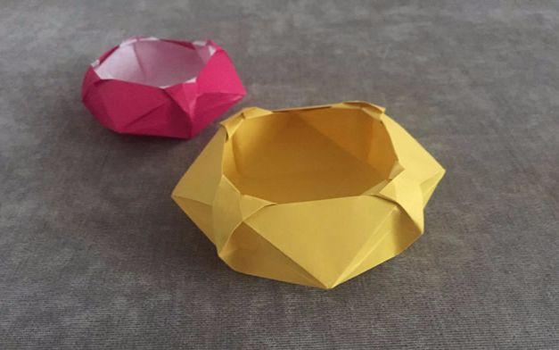 纸在乎你 手工折纸 收纳系列 六边形创意纸盒 【漏发】
