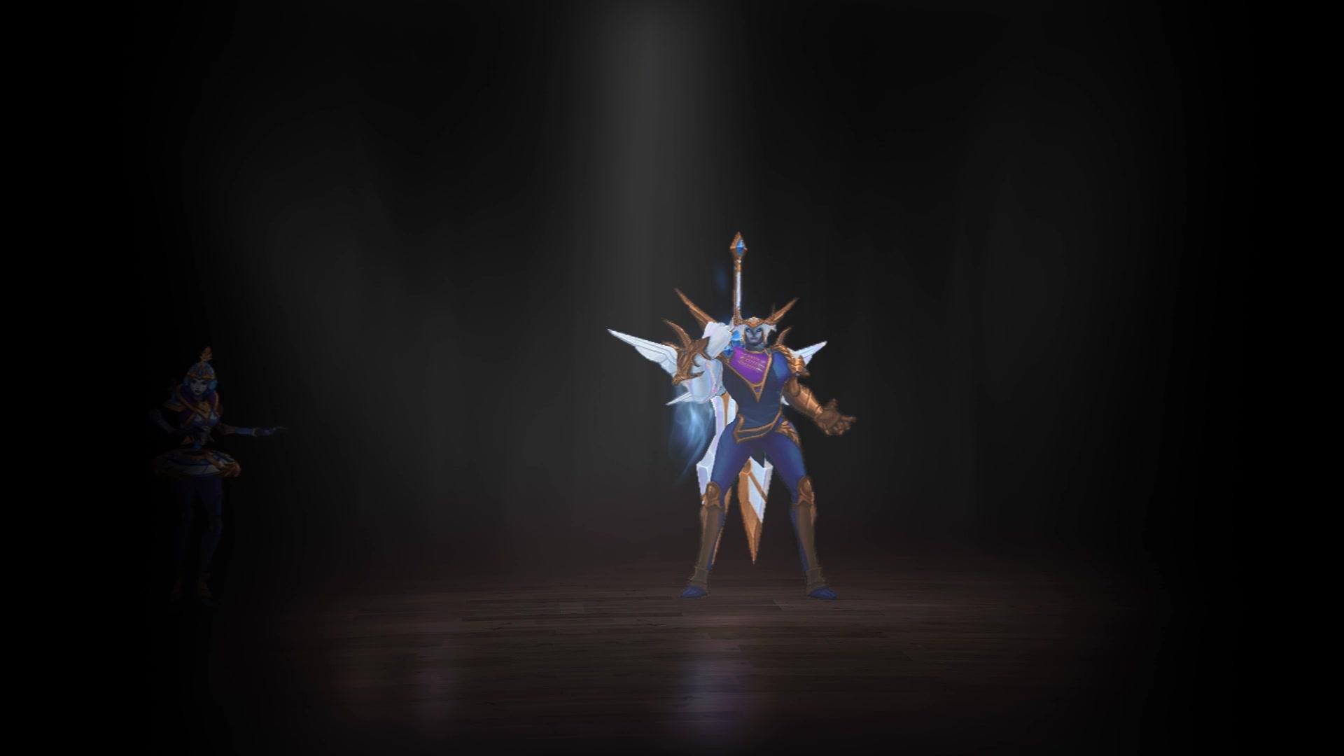 【英雄联盟】胜利女神系列皮肤展示