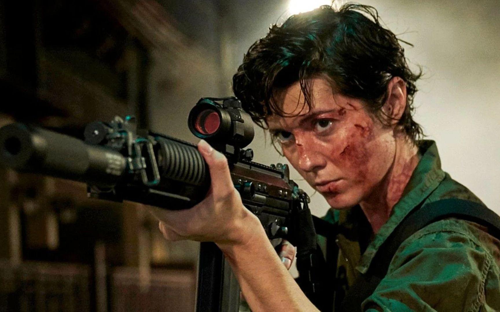 11分钟看完2021最新高燃动作电影《凯特》,《疾速追杀》动作指导