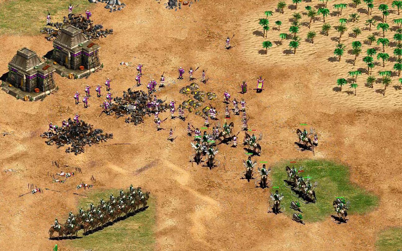 【帝国时代2】自闭式打法拒绝交流,一道围墙击败阿兹特克