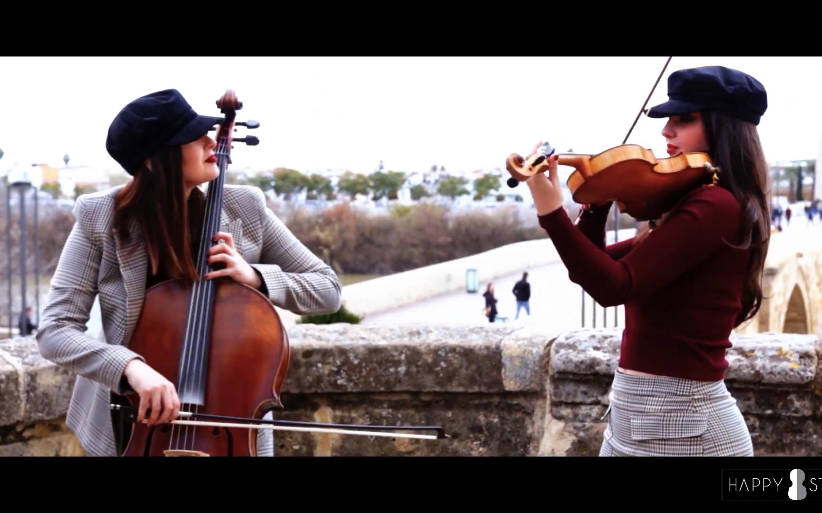 酷玩乐队 Viva La Vida - Coldplay 小提琴 u0026 大提琴 二重奏 / HAPPY STRINGS ( Violin u0026 Cello )