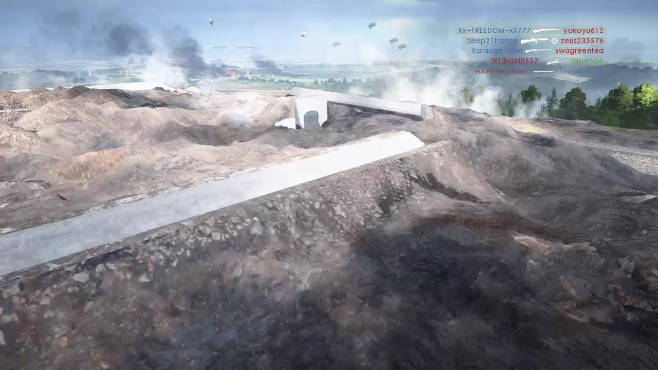 【本命狙击手】 《战地1》小技巧  要塞地图A到B点