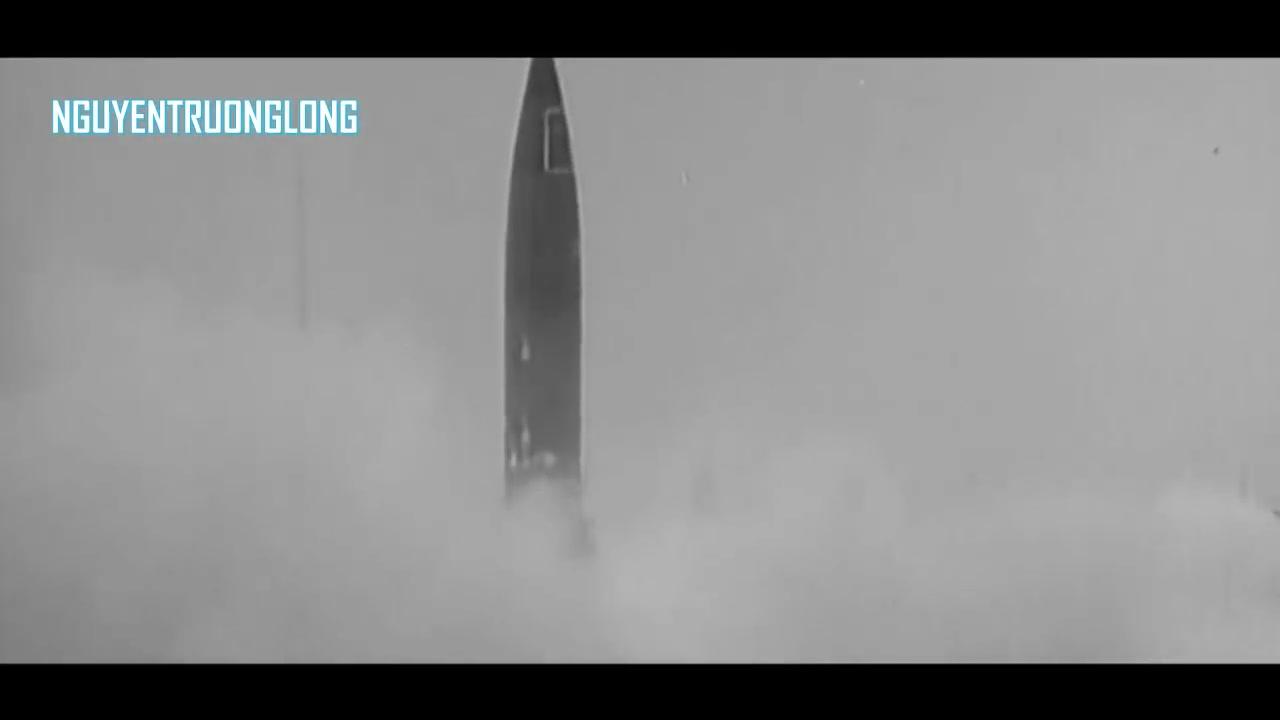 【珍贵录像】德国V-2导弹发展测试的原始镜头