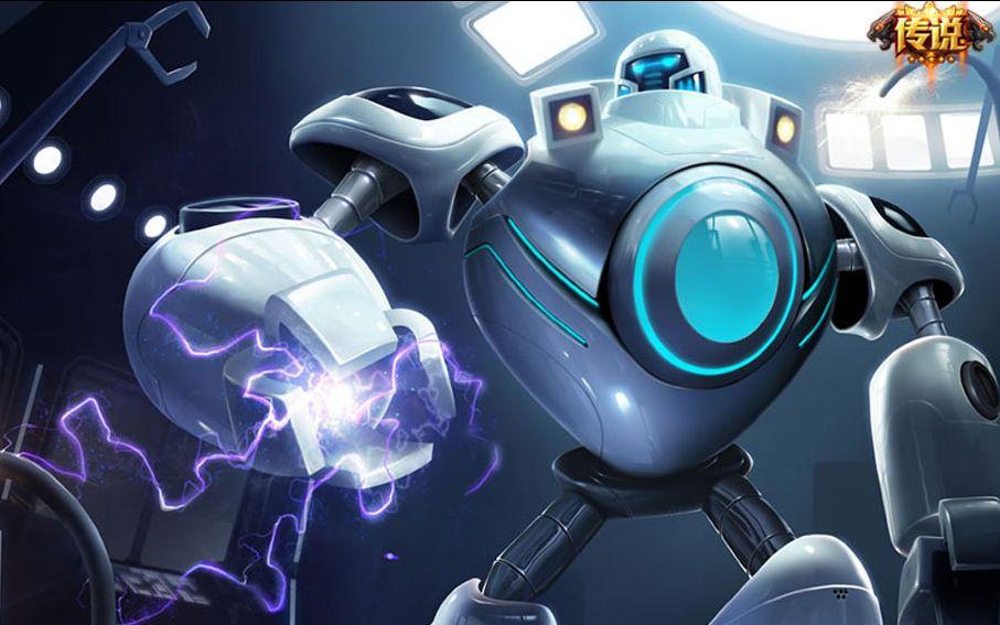 小宁解说:机器人布里茨,打野的皇帝