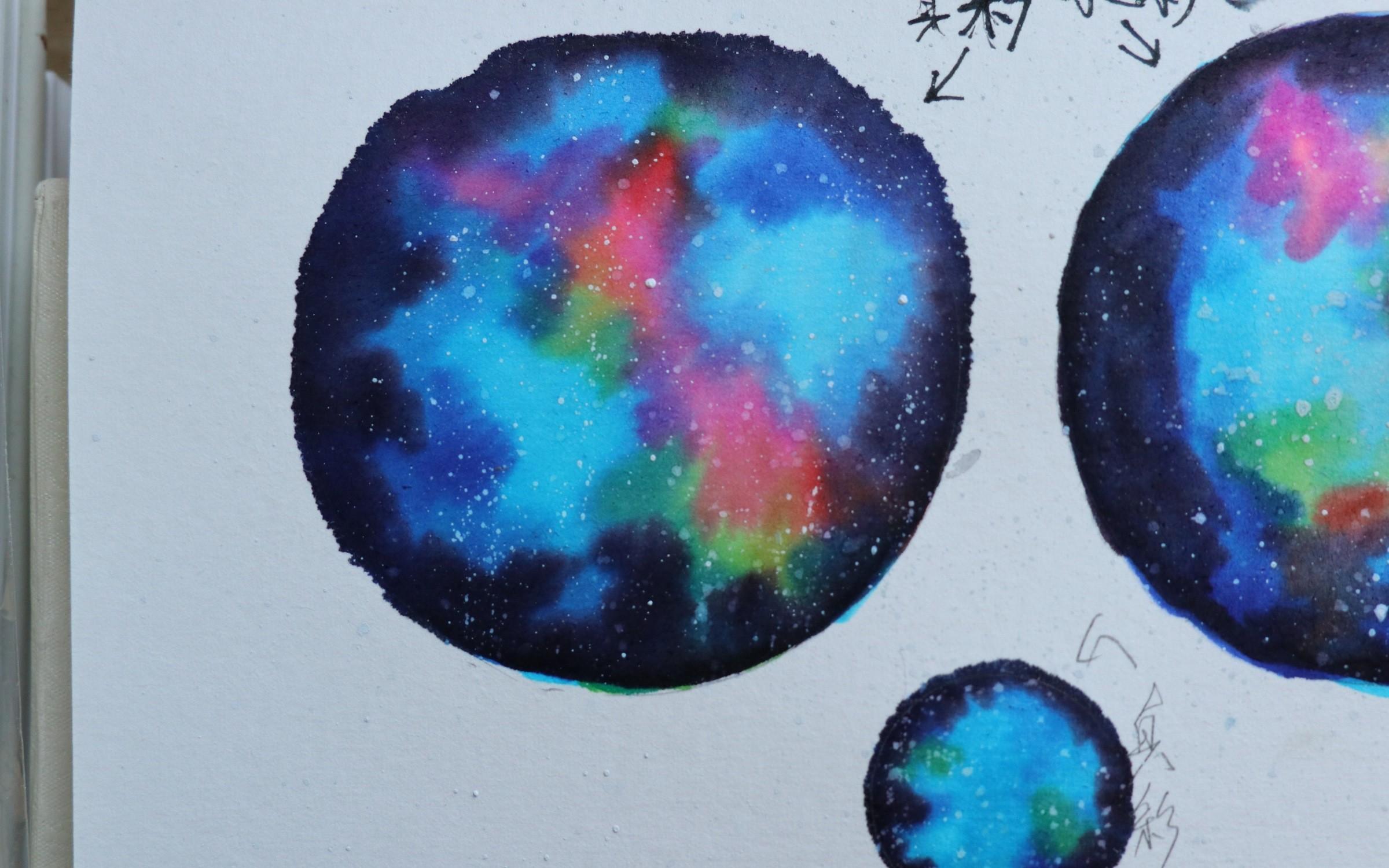 颜料画星空 视频在线观看 爱奇艺搜索