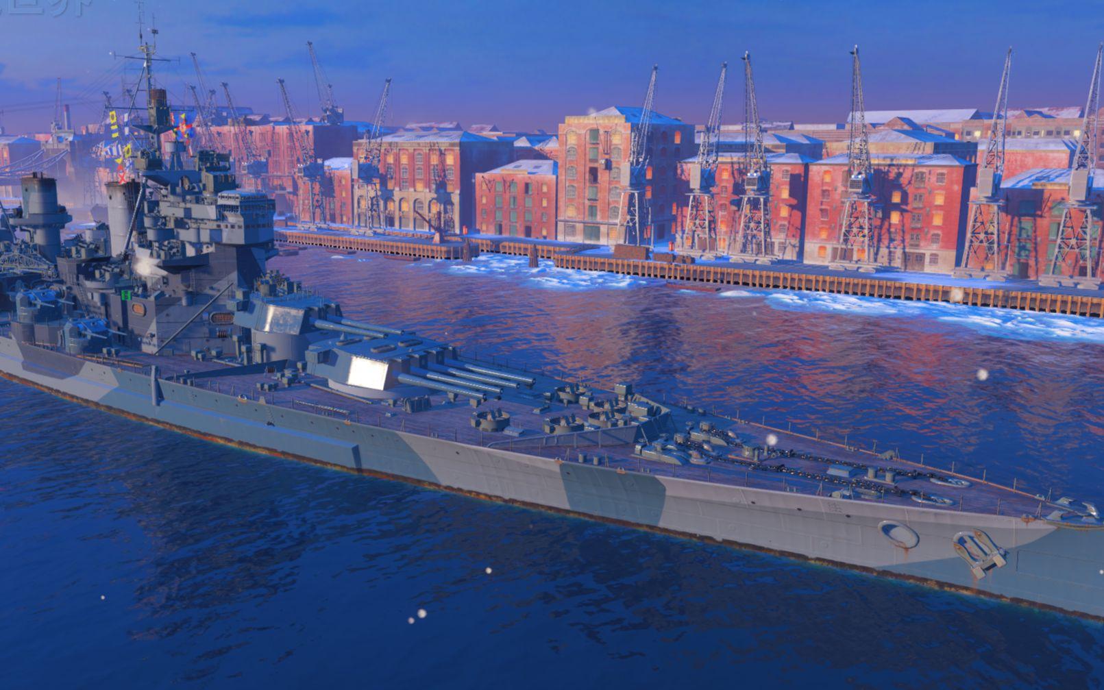 战舰世界-英王乔治五世五杀海怪