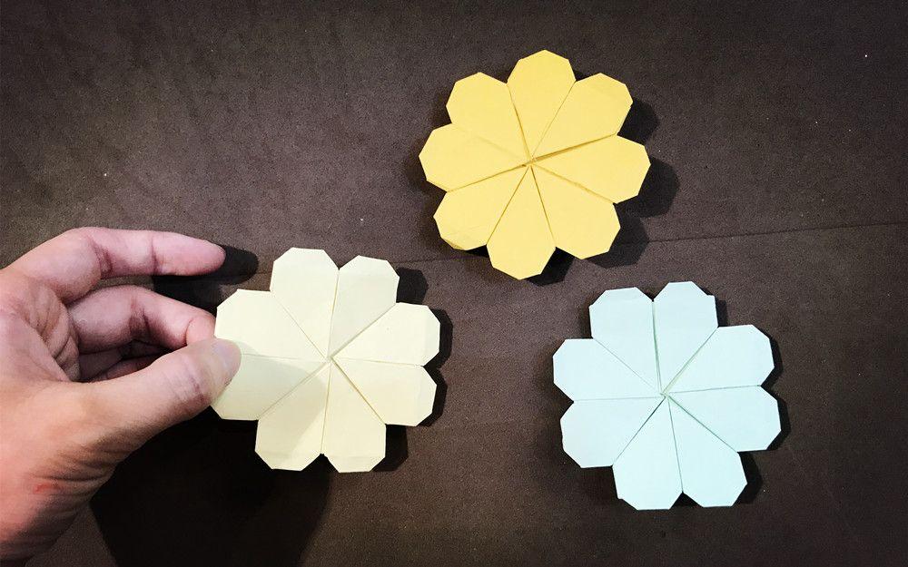 简单入门折纸,幸运四叶草