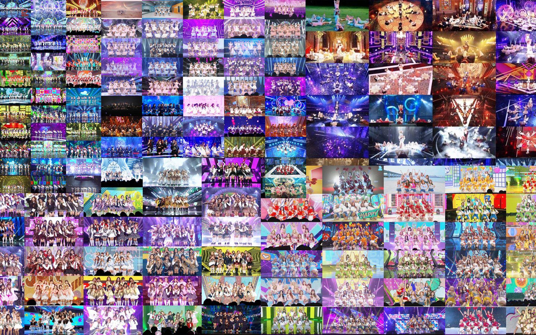【韩国最讲究打歌服的女团之一】100多套··1000多件打歌服混剪(主打歌)