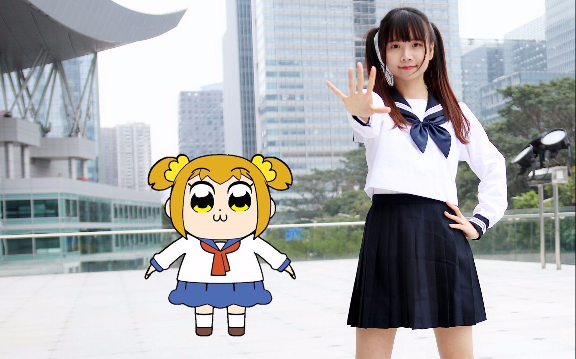 【小唯萌主】恋爱吧♥(男声版)POP TEAM EPIC!