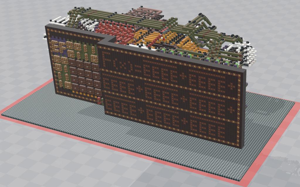 【Minecraft】 卡诺图化简机