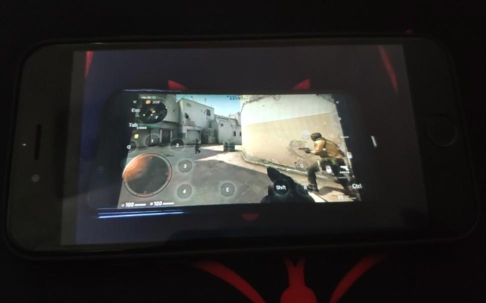 【CS:GO】用小米手机玩CS:GO(非标题党)(滑稽)你永远不知道你的队友在用什么和你打
