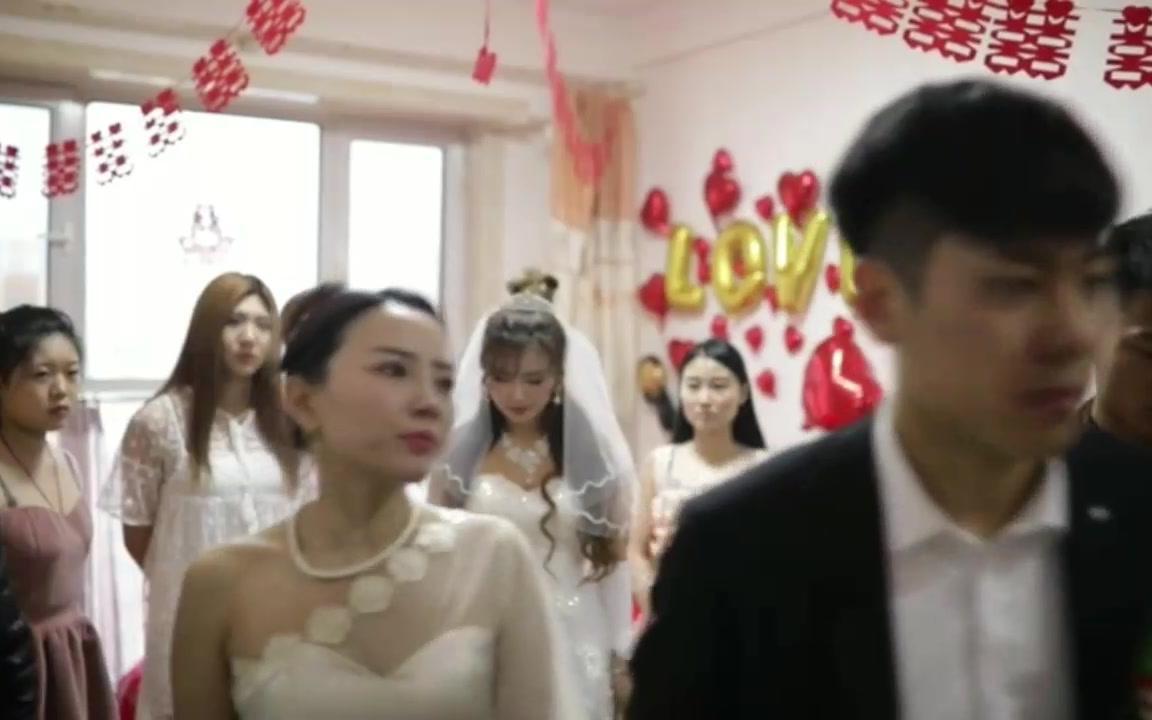 新娘结婚,当天被岳母要50W,被钱打败了爱情,领着伴娘去结婚