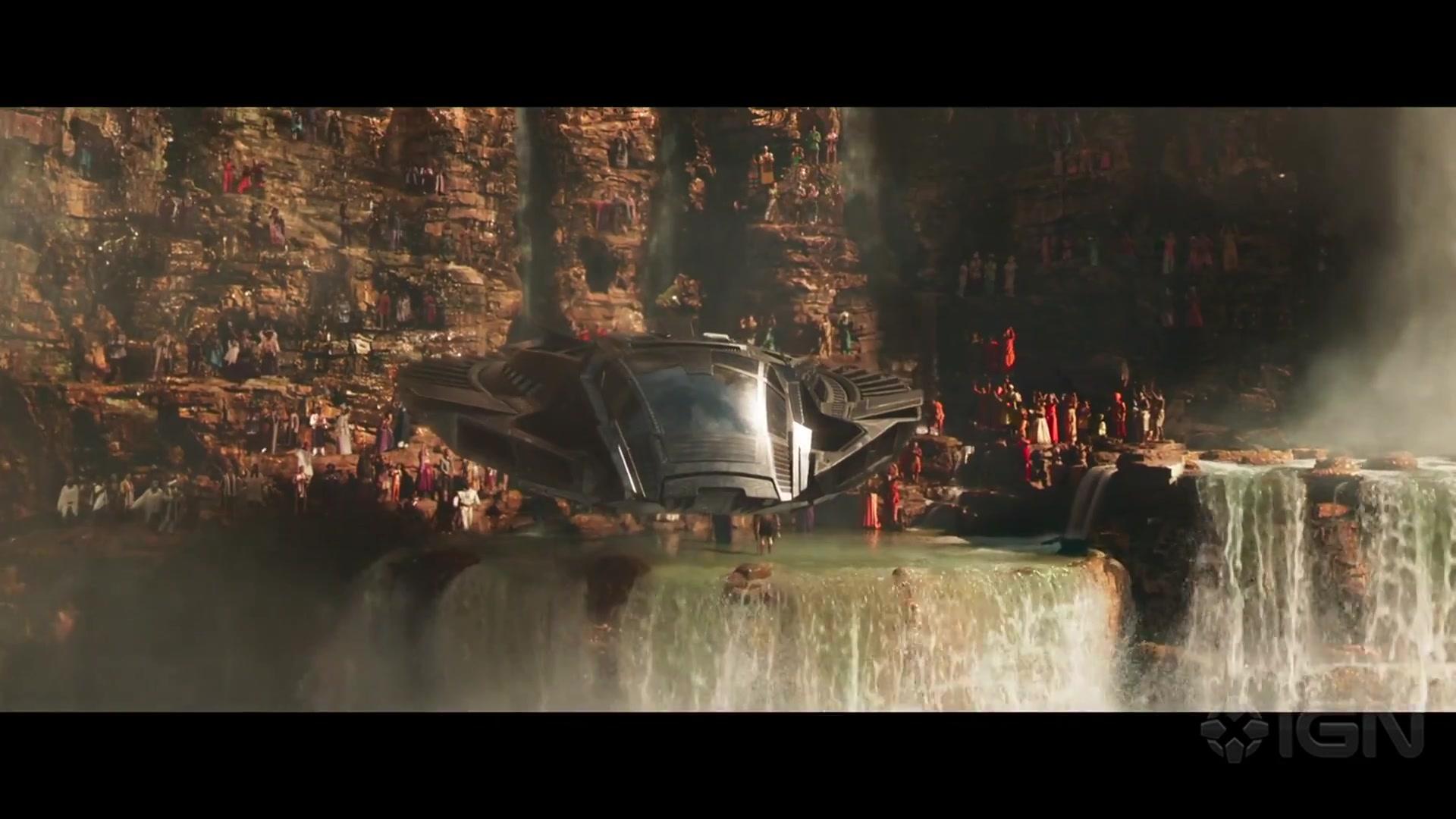 漫威《黑豹》电影预告片 black panther - domestic trailer #1 (2018