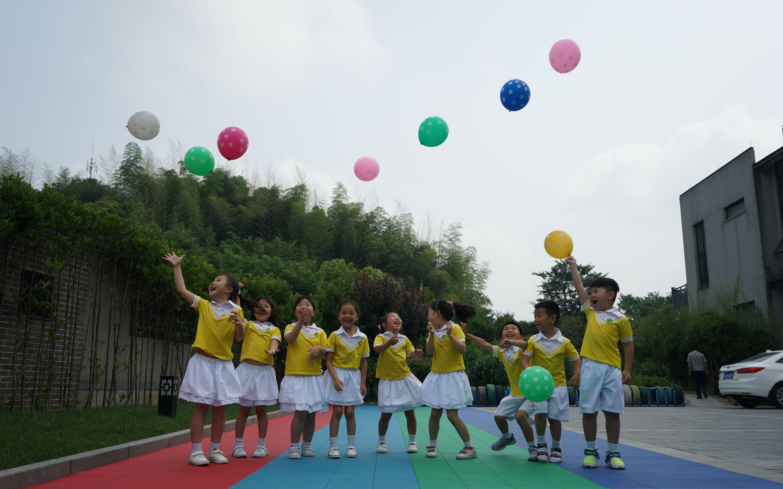 宁波塘家湾幼儿园毕业照拍摄花絮图片