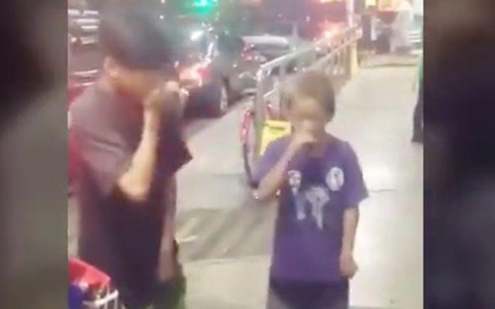 【小孩即兴rap】妈妈问我为什么跪着看视频,别人家的孩子太厉害啦!