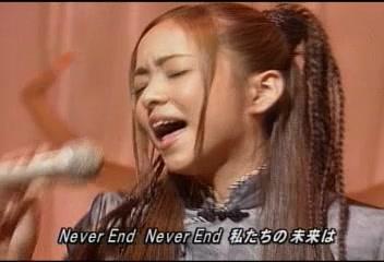 安室奈美惠 - NEVER END(MS 2000.07.28)
