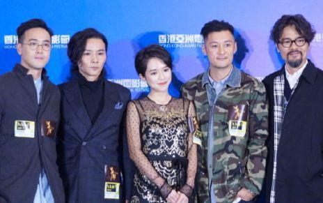 20171102张晋余文乐出席《狂兽》首映图片