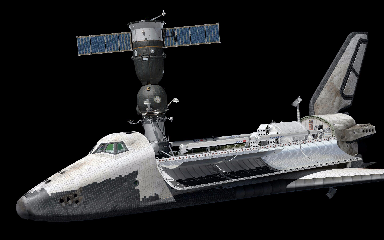 苏联暴风雪号航天飞机-cccp