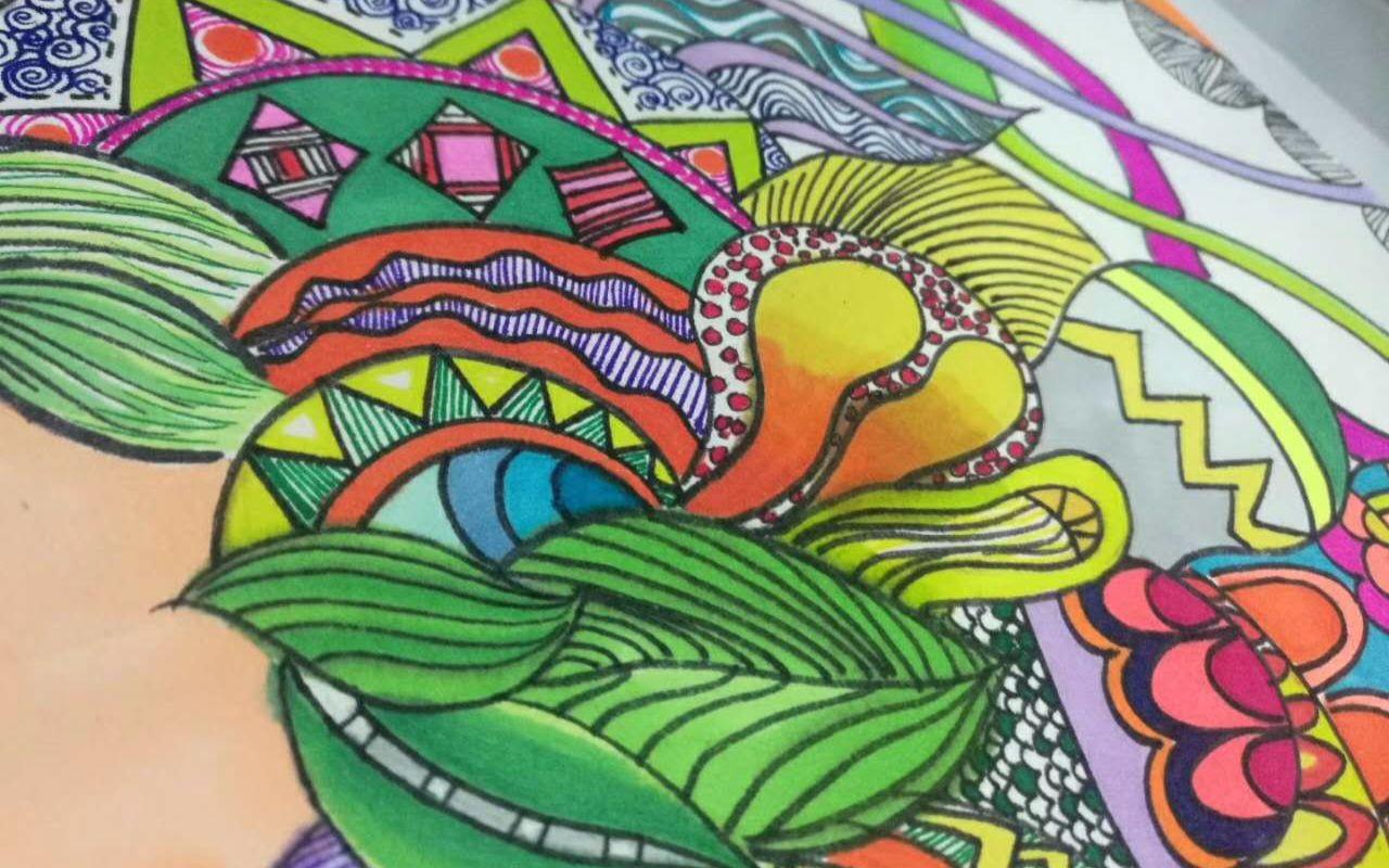 马克笔绘画体验分享图片