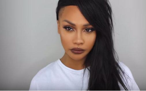 欧美同人色视频_蕾哈娜rihanna bad girl仿妆 巧克力色系欧美妆容教程