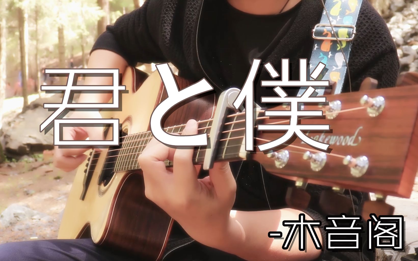 【指弹吉他】君と僕「you and me」-by木音阁