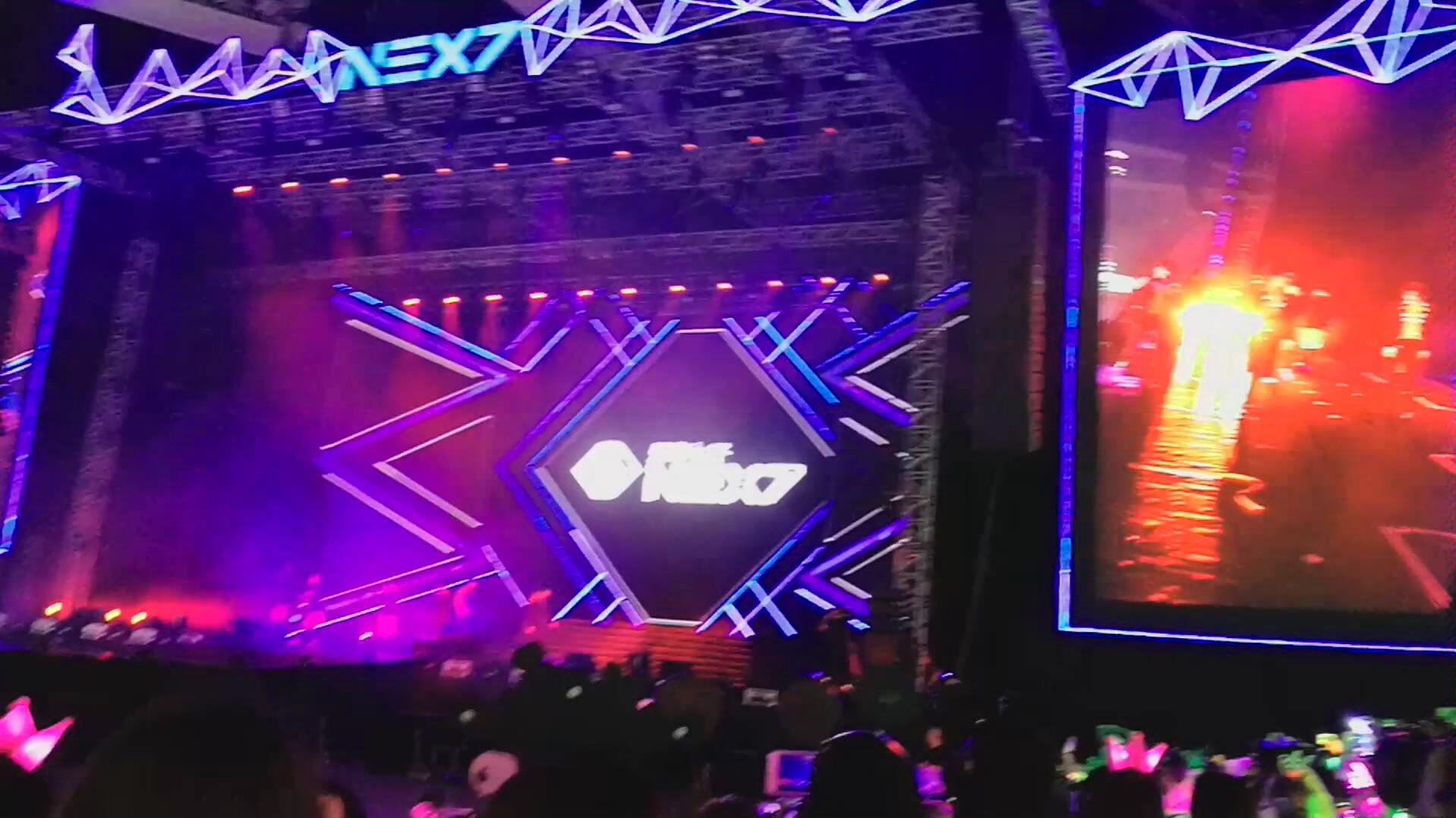 【乐华七子next】《eoeo》—8.18广州场,原唱:uniq