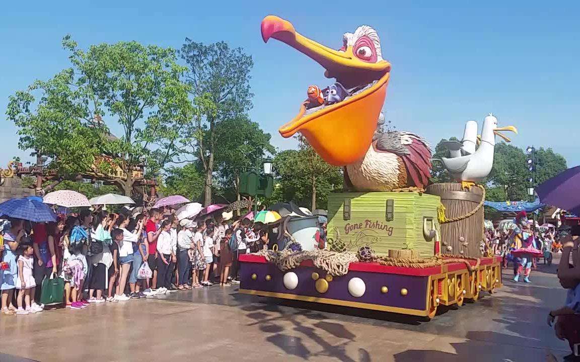 上海迪士尼主题乐园花车巡游里的这个动漫角色叫什么?图片