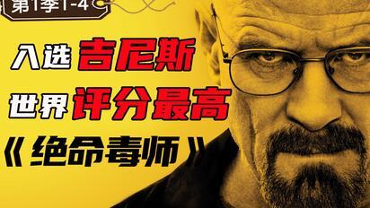 豆瓣9.6,权威网站认证必看神剧!世界评分最高的电视剧《绝命毒师》第一季1-4