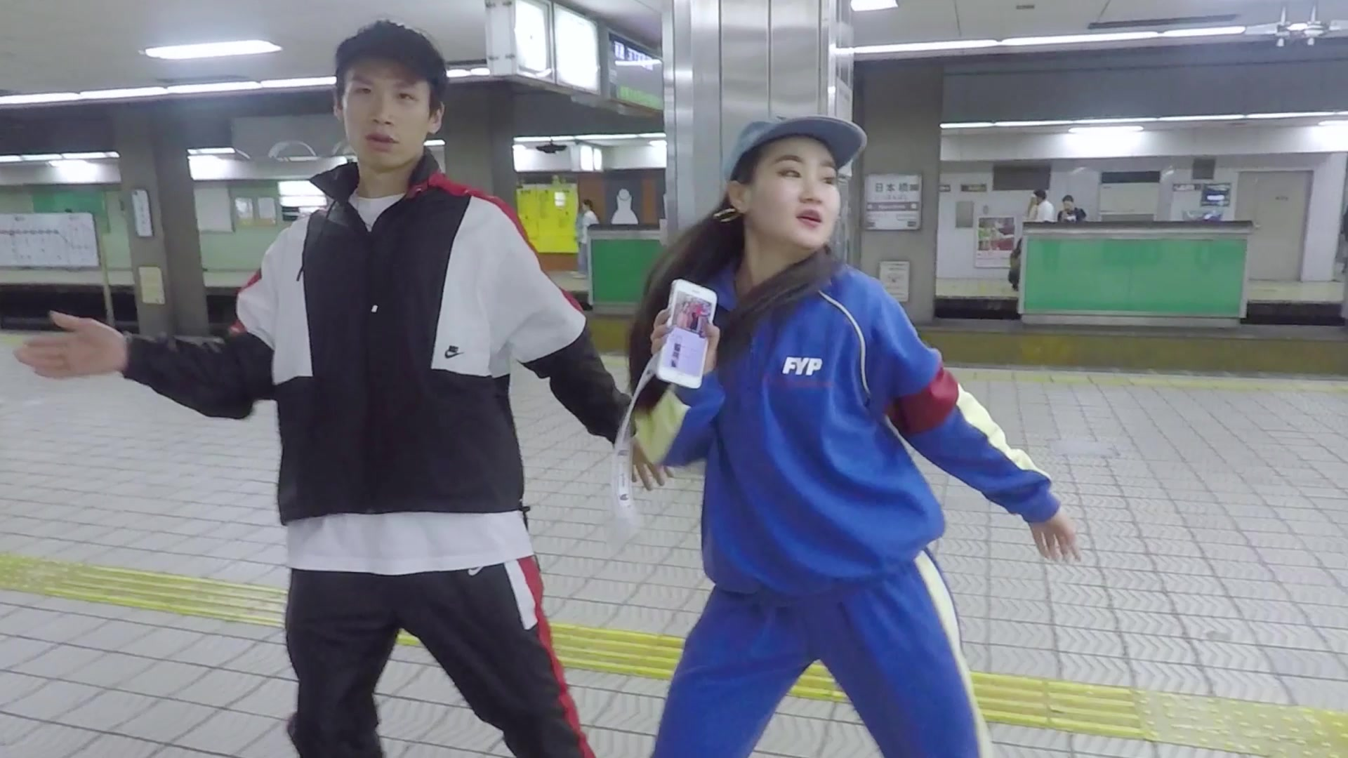 CASTER舞蹈作品 ︱Colin&Amy - Swag in osaka metro