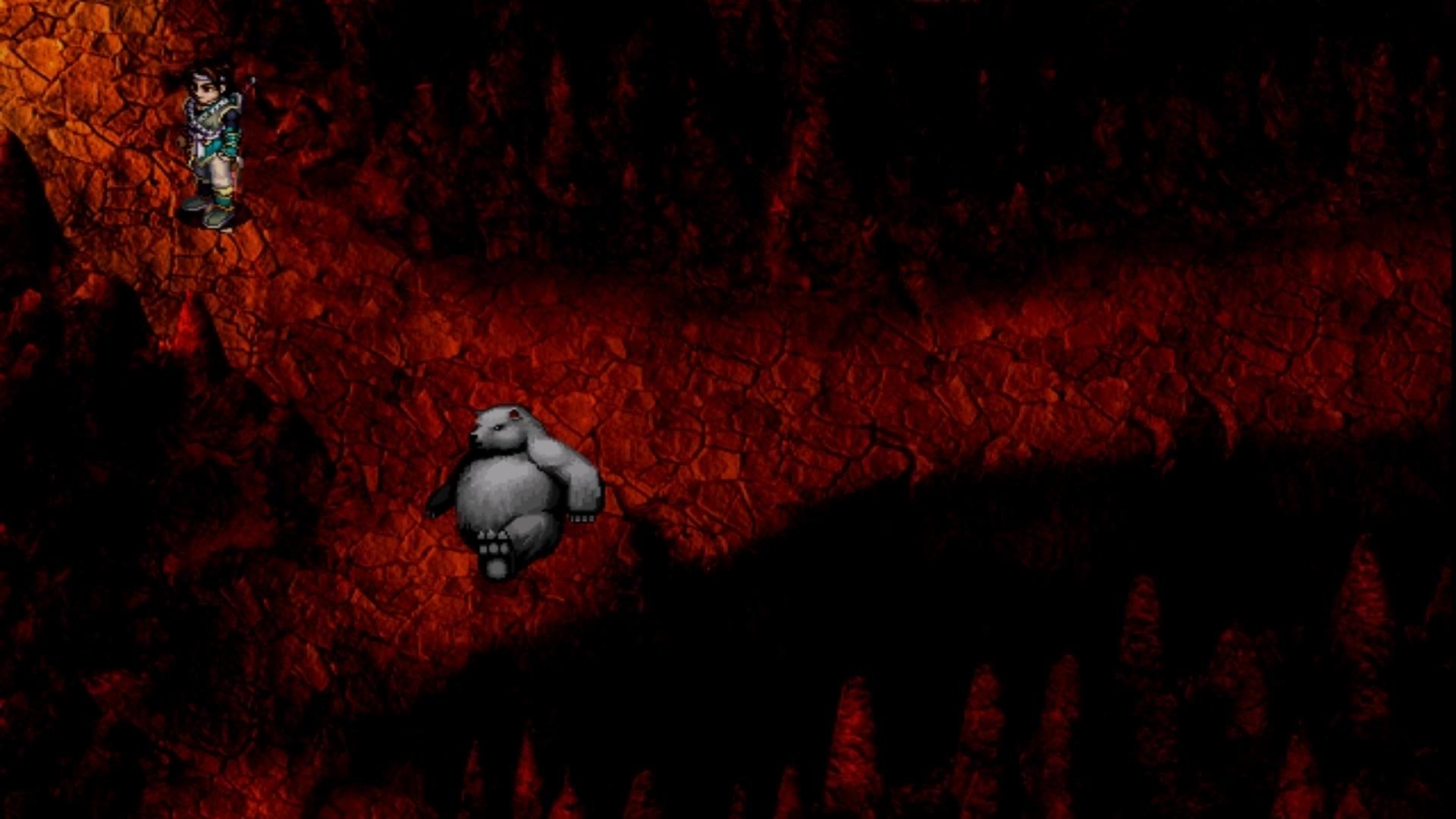 仙剑奇侠传二 9 玲珑福地取天蛇杖&得到火猴1图片