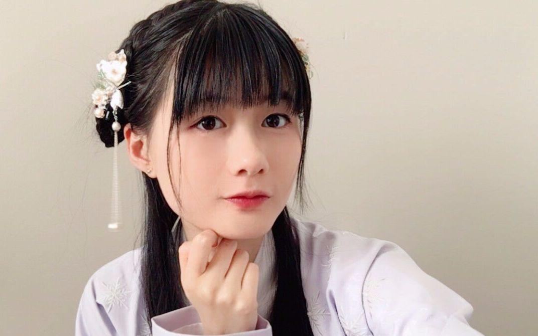 【发型教程】汉服发型:0假发包的少发量手残党救星!