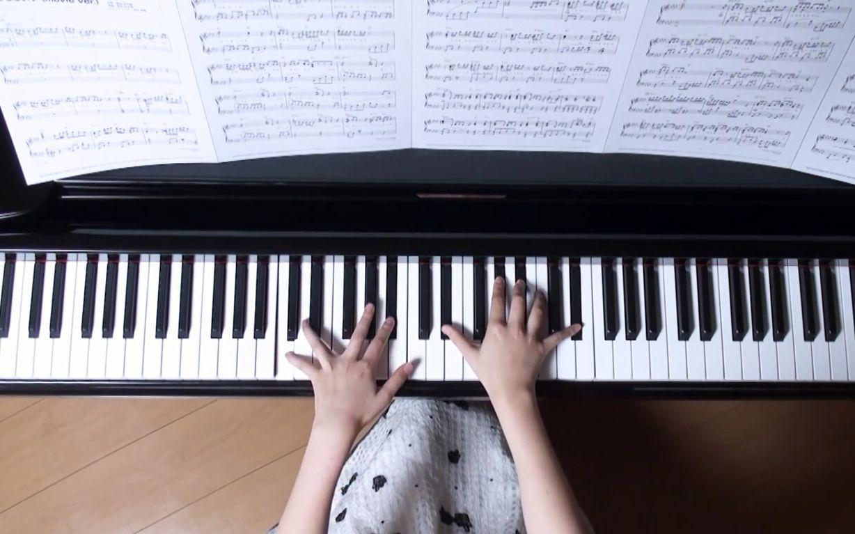 【钢琴】《你的名字》电影插曲 什么都没有 上白石 萌图片