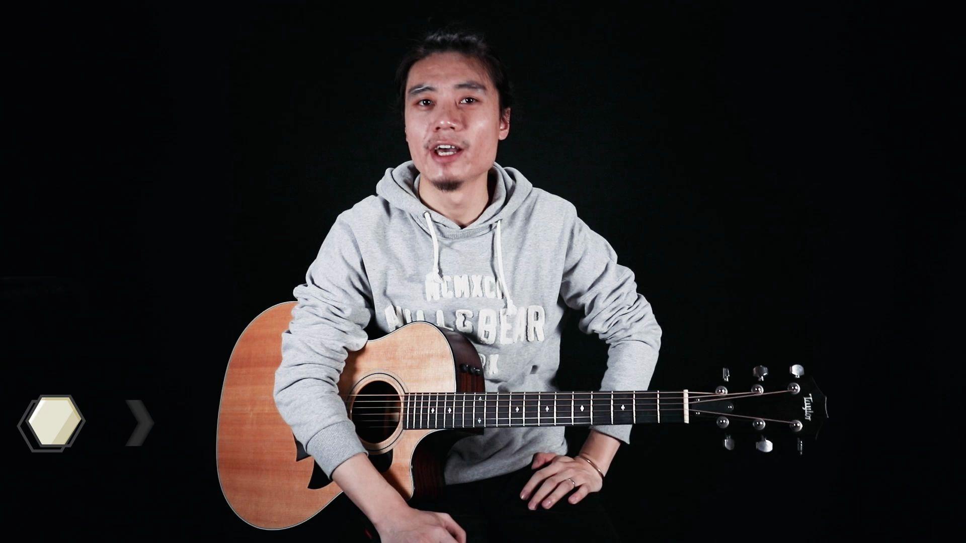 【AI音乐学院】五月天「温柔」吉他弹唱教学