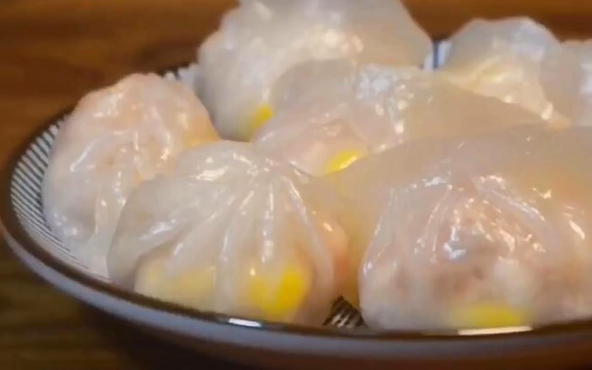 花样水晶虾饺