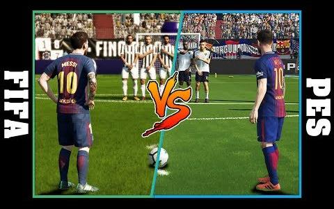 【FIFA VS 实况】盘点历代版本梅西任意球镜头