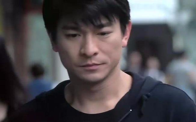 寒战电影 刘德华回答记者问题 图片合集